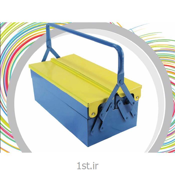 جعبه ابزار فلزی سپنتا 402 (2 طبقه) کد 128