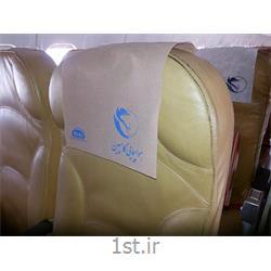عکس تبلیغات محیطیچاپ  هدرست (کاور پشت سری صندلی) هواپیمایی کاسپین