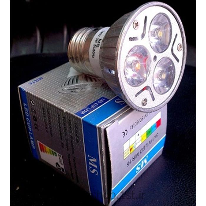 عکس لامپ ال ای دی ( LED )لامپ ال ای دی (LED) سرپیچ معمولی MS