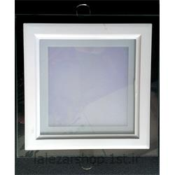 عکس چراغ سقفی توکارچراغ پنلی مربعی 12 وات ZFR توکار
