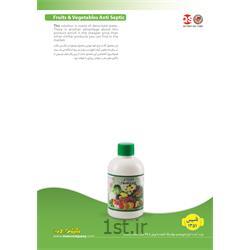 عکس مواد شوینده و پاک کنندهضدعفونی کننده نیم لیتری میوه و سبزیجات (man)