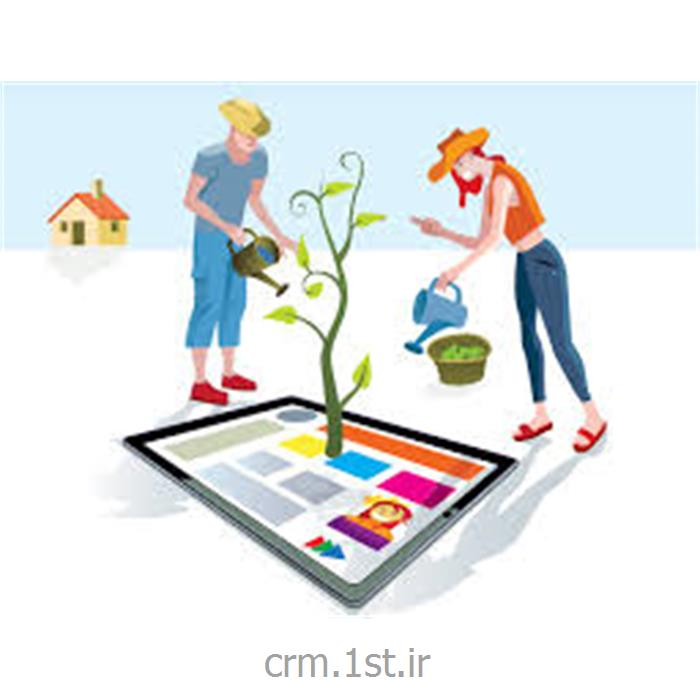 ماژول سایت ساز نرم افزار CRM پیام گستر