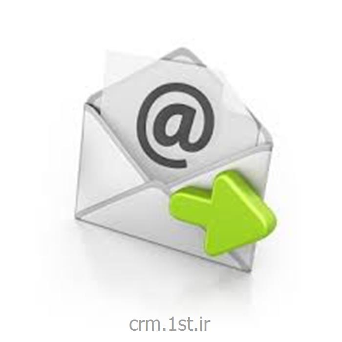 عکس نرم افزار کامپیوترماژول ارسال ایمیل هوشمند نرم افزار CRM پیام گستر