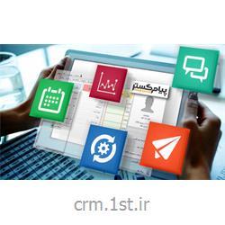 ماژول بانک موبایل مناطق پستی کلان شهر ها نرم افزار CRM پیام گستر