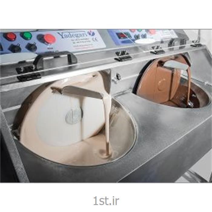عکس سایر ماشین آلات تولید مواد غذاییدستگاه تمپرینگ گرمکن دو قلو 15 کیلوگرمی Tempering
