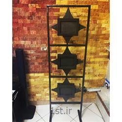 قاب عکس چوبی پاراوانی 2 طرفه و گردان ایستاده مدل ستاره