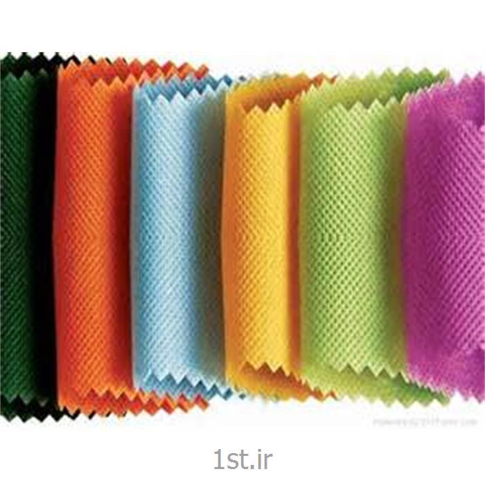 عکس پارچه 100% پلی پروپیلنپارچه اسپان باند پلی پروپیلنی 50 گرمی (Spunbond) سفید و رنگی