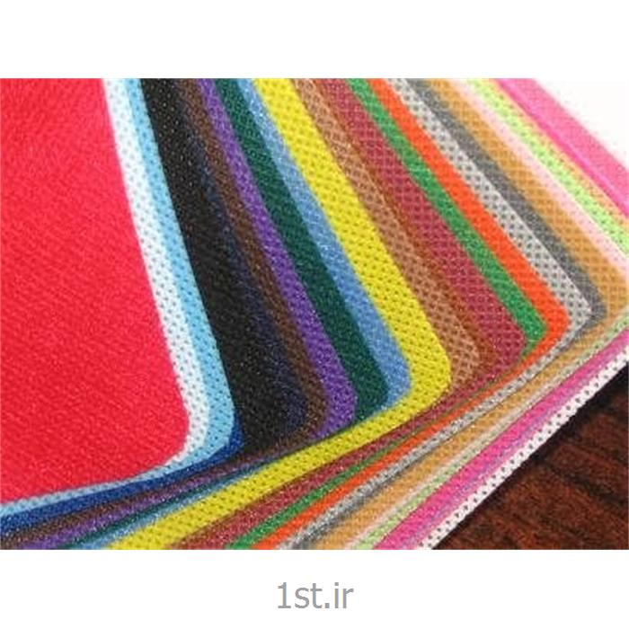 عکس پارچه 100% پلی پروپیلنپارچه اسپان باند پلی پروپیلنی 60 گرمی (Spunbond) سفید و رنگی