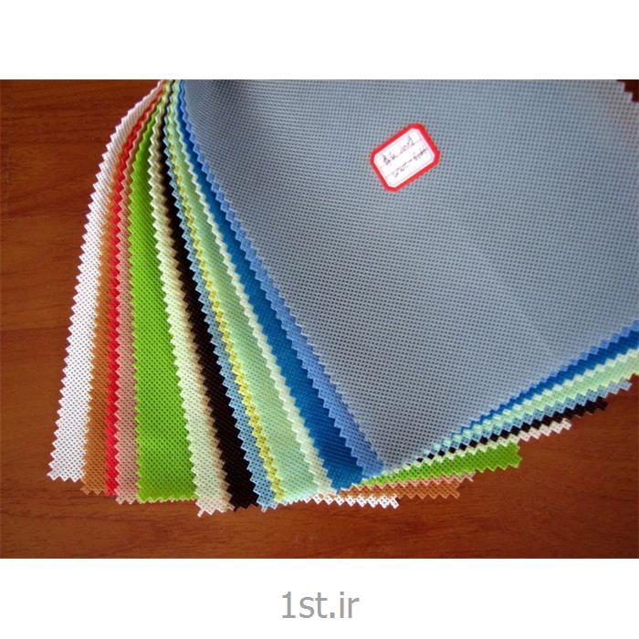 عکس پارچه 100% پلی پروپیلنپارچه اسپان باند پلی پروپیلنی 40 گرمی (Spunbond) سفید و رنگی
