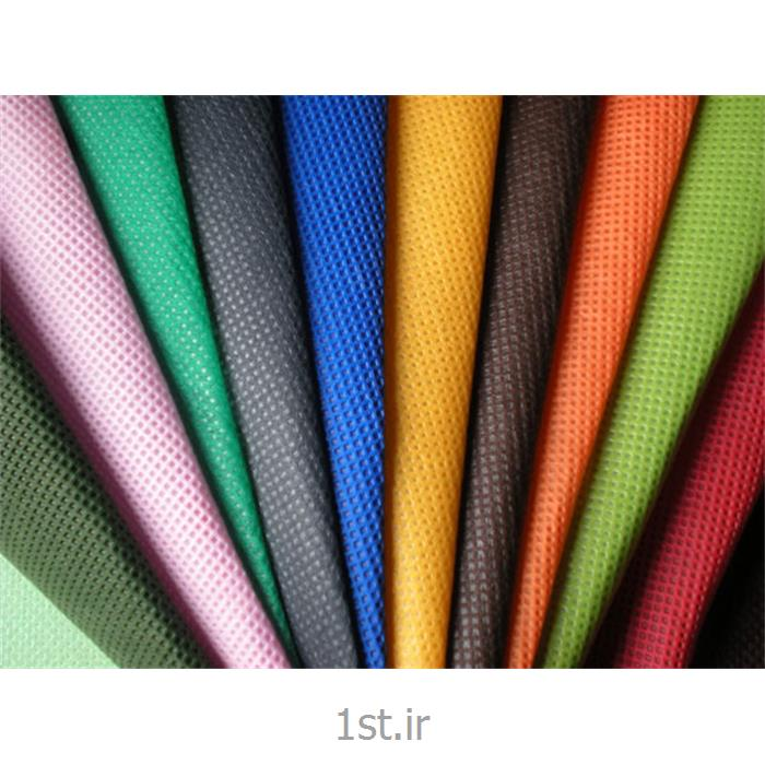 عکس پارچه 100% پلی پروپیلنپارچه اسپان باند پلی پروپیلنی 80 گرمی (Spunbond) سفید و رنگی