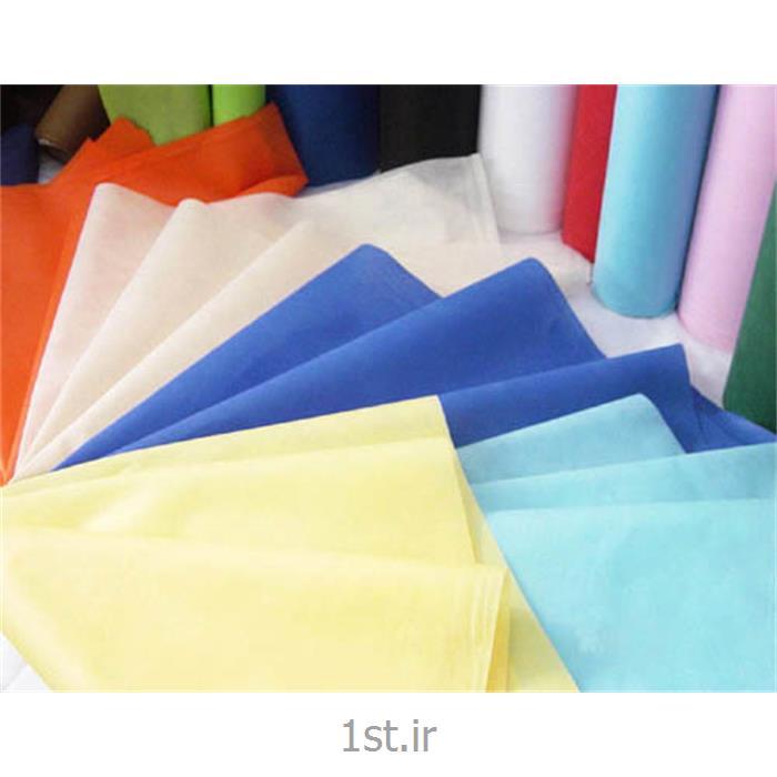 عکس پارچه 100% پلی پروپیلنپارچه اسپان باند 30 گرمی پلی پروپیلنی (Spunbond) سفید و رنگی