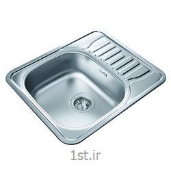 عکس سینک آشپزخانهسینک استیل ظرفشویی فرامکو مدل 13