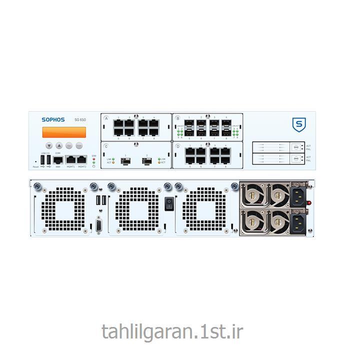 عکس فایروال ( دیوار آتش ) و  VPNفایروال سخت افزاری سوفوس مدل Sophos SG 650
