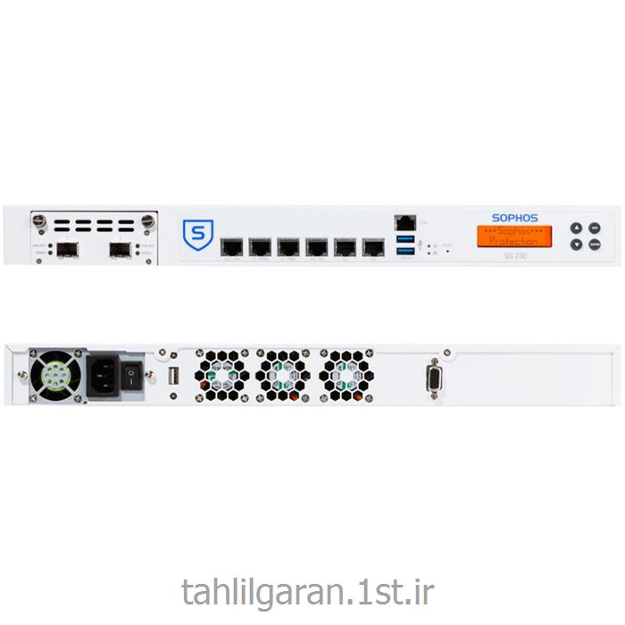 عکس فایروال ( دیوار آتش ) و  VPNفایروال سخت افزاری سوفوس مدل Sophos SG 230