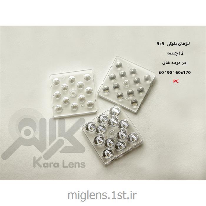 لنز اس ام دی 12 وات، مربعی، 50*50 میلیمتر