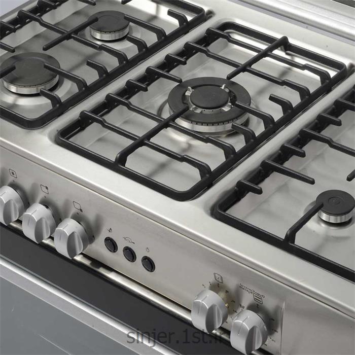 اجاق گاز فردار پنج شعله استیل مدل 3100 سینجر Sinjer S3S