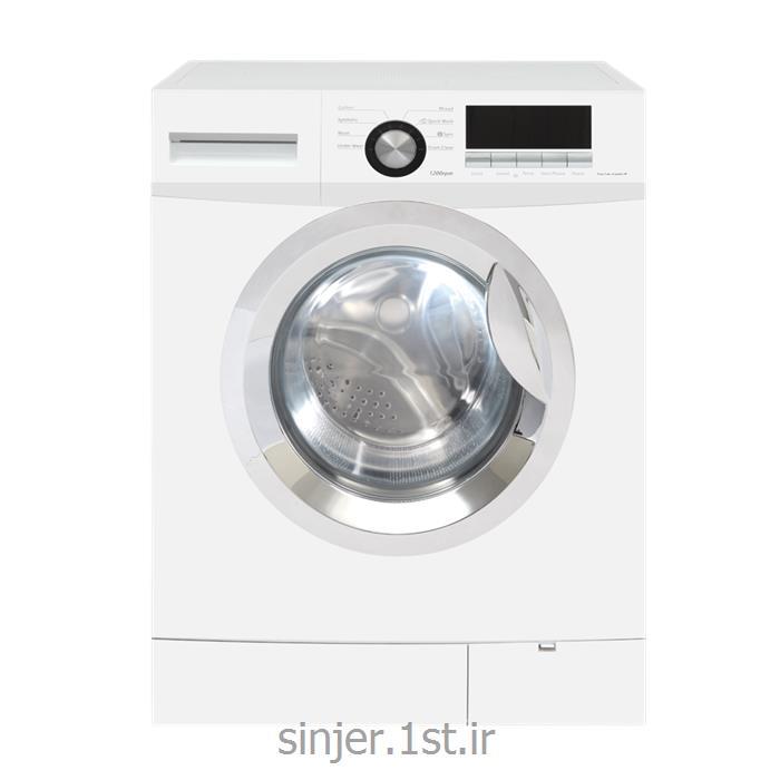 عکس ماشین لباسشوییماشین لباس شویی هفت کیلوگرم 1200 دور سفید سینجر Sinjer WMS-70-X3712WC