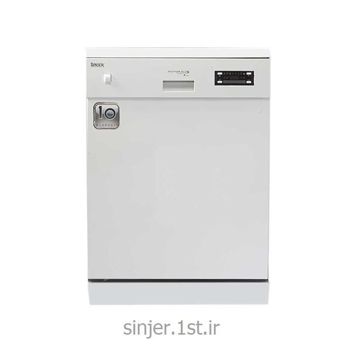 عکس ماشین ظرفشوییماشین ظرفشویی سفید سینجر Sinjer WQP 9273