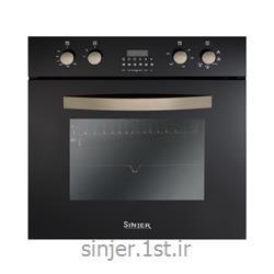 فر توکار برقی گازی مشکی تایمر دار مدل ایزی کلین سینجر Sinjer FM1