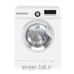 عکس ماشین لباسشوییماشین لباس شویی  هشت کیلوگرم 1200 دور سفید سینجر Sinjer WMS-80-X3812WC