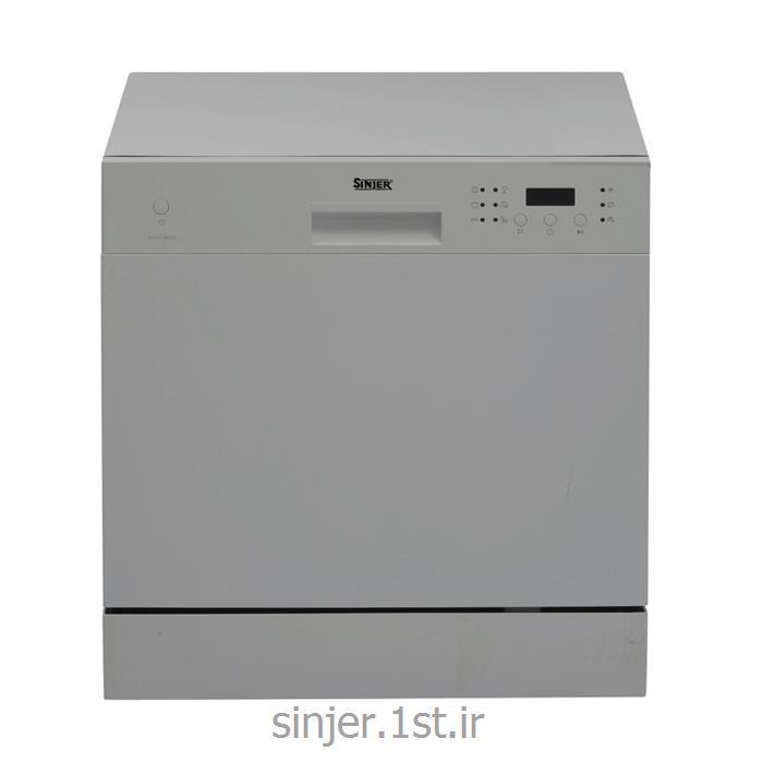 ماشین ظرفشویی رومیزی هشت نفره سیلور سینجر Sinjer DWS8-M3802S