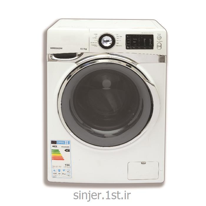 عکس ماشین لباسشوییلباسشویی 8 کیلویی 1200 دور سینجر مدل WMS-80-D1812WC