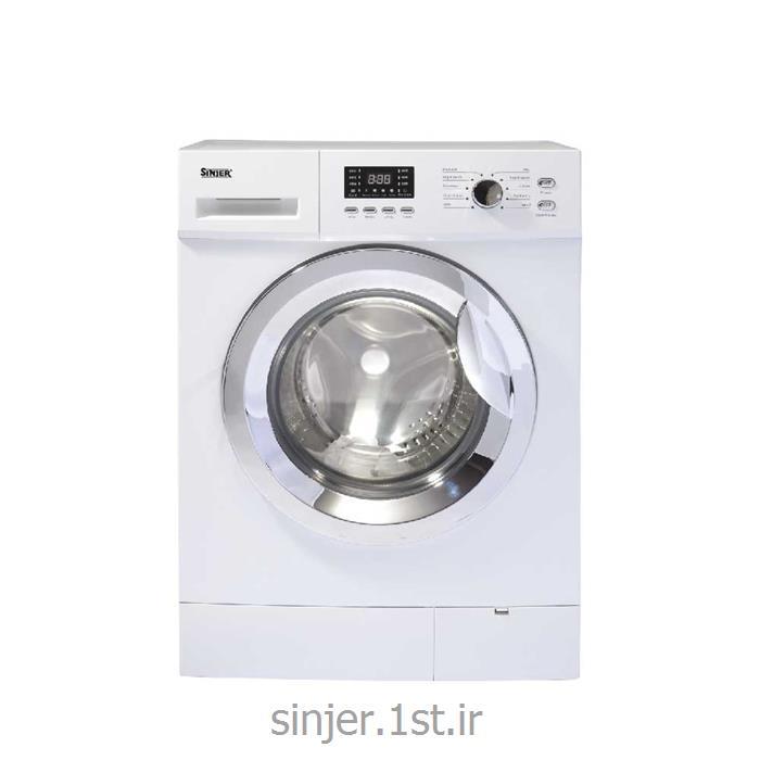 عکس ماشین لباسشوییماشین لباسشویی 6 کیلو 1200 دور سفید سری ایکس  Sinjer WMS-60-X2612WC