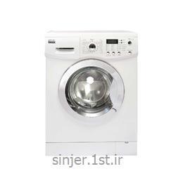 ماشین لباسشویی هشت کیلو بدنه سفید درب کروم سینجر Sinjer WMS-80-L812WC2