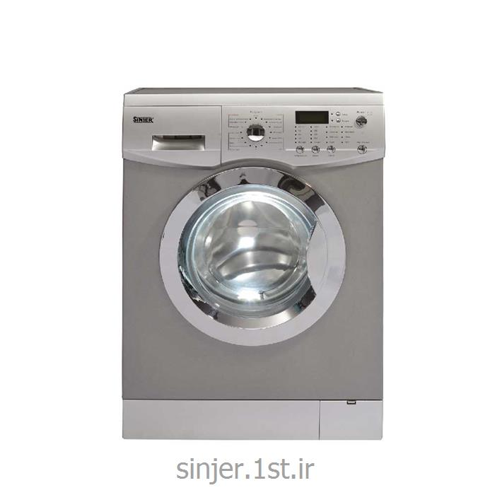 عکس ماشین لباسشوییماشین لباسشویی 8 کیلو سیلور 1200 دور سینجر Sinjer WMS-80-L812SC2