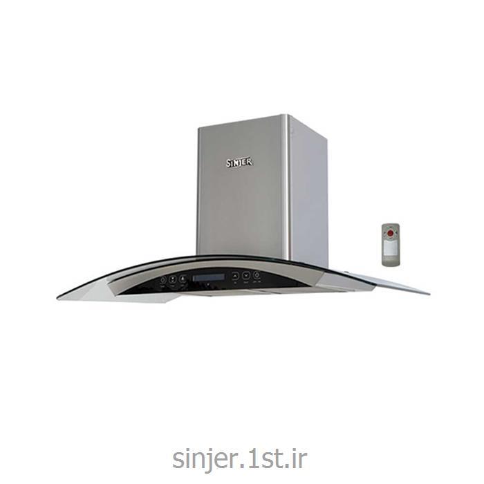 هود آشپزخانه شومینه ای تایمر دار استیل سینجر Sinjer HC-02