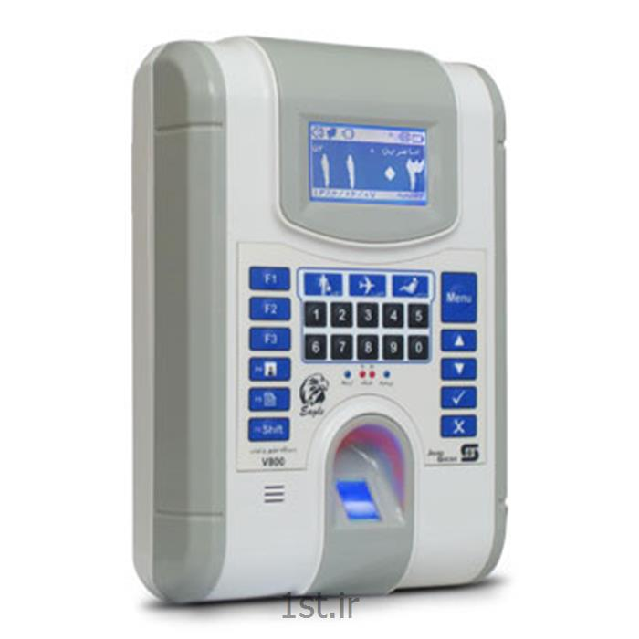عکس کنترل دسترسی با اثر انگشت (حضور و غیاب با اثر انگشت)دستگاه حضور غیاب اثر انگشتی مدل V800FL