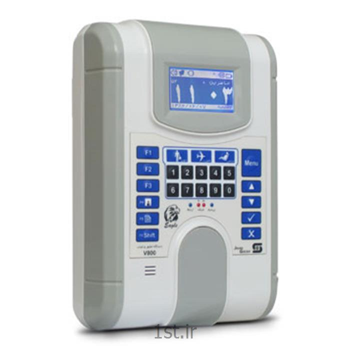 عکس کارتخوان ورود و خروج (کارت خوان حضور و غیاب)دستگاه حضور غیاب کارتی شبکه مدل V800C02L