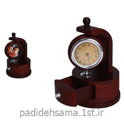 ساعت رومیزی قاب عکس دار تبلیغاتی کد W 495