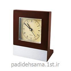 ساعت چوبی رومیزی تبلیغاتی کد W047
