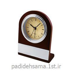 ساعت چوبی رومیزی تبلیغاتی کد W035