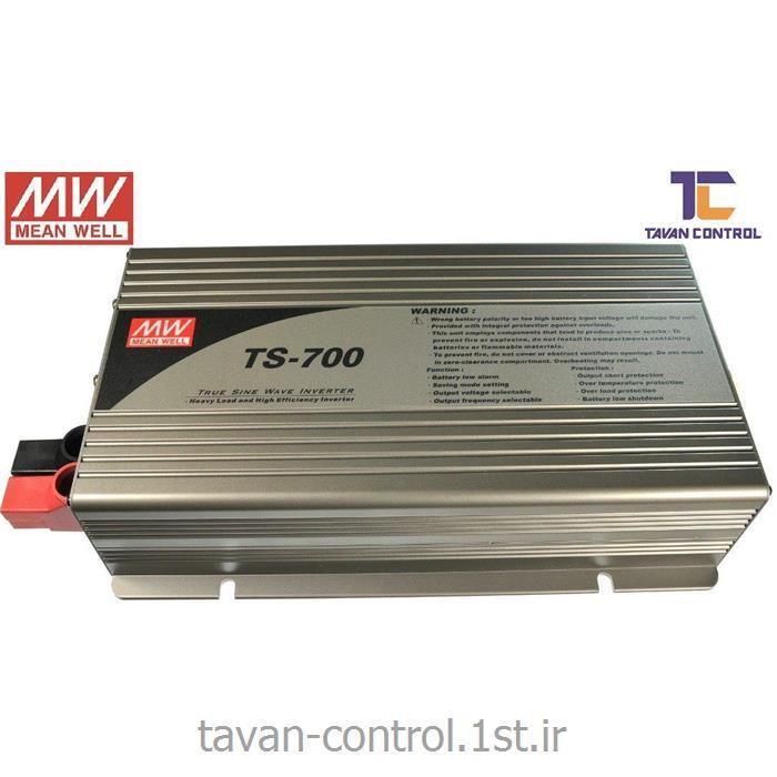 اینورترسینوسی مینول ورودی 24 ولت مدل TS-700-224 MEAN WELL
