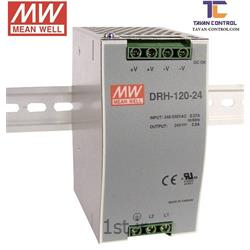 منبع تغذیه سوئیچینگ مینول 24 ولت 5 آمپر ریلی مدل DRH-120-24MEAN WELL