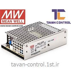 منبع تغذیه و شارژر مین ول 24 ولت 3.5 آمپر مدل PSC-100B MEAN WELL