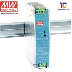 عکس منبع تغذیه سوئیچینگمنبع تغذیه سوئیچینگ مین ول 24 ولت 3.2 آمپر مدل EDR-75-24 MEAN WELL