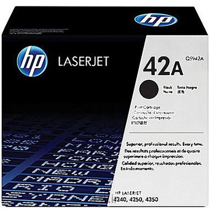 کارتریج لیزری طرح فابریک Q5942A اچ پی HP