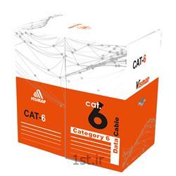 کابل شبکه مدل CAT6 UTP CU ویسمن تست فلوک  به طول 305 متر کد 205198