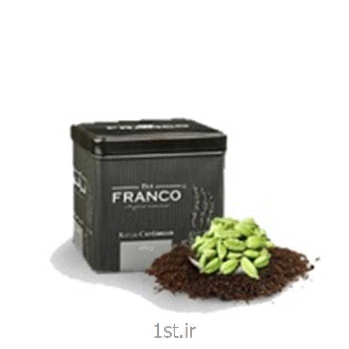 عکس چای سیاهچای کله مورچه با طعم هل 450 گرمی فرانکو محصول کنیا