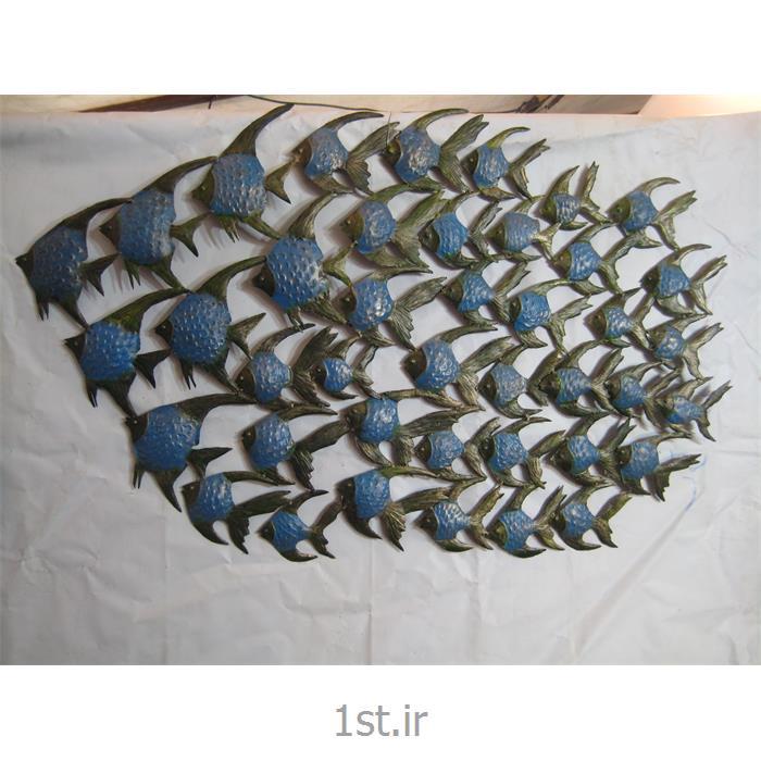 تابلو فلزی دیواری مدل ماهی