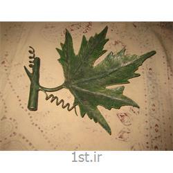 عکس صنایع دستی فلزیظرف شکلات خوری فلزی رومیزی