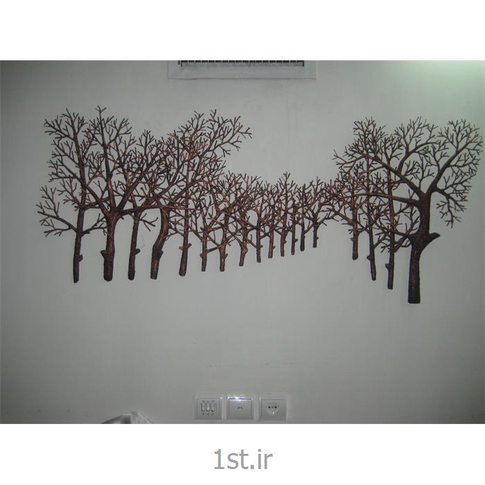 تابلو فلزی دیواری مدل درخت