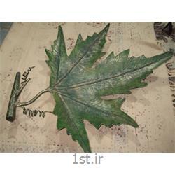 عکس صنایع دستی فلزیظرف میوه خوری فلزی رومیزی