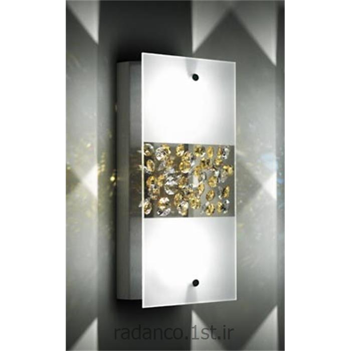 عکس Fresh Lightsکریستال دیواری اسپلندید توپاز سواروفسکی SWAROVSKI SPLENDID TOPAZ WALL LUMINAIRE CRYSTAL