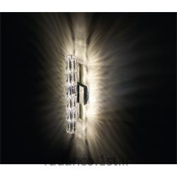 عکس Fresh Lightsکریستال دیواری سواروفسکی VERVE 456MM WALL LUMINAIRE CRYSTAL