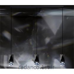 عکس Fresh Lightsکریستال آویز سواروفسکی SWAROVSKI OCTA 3 LIGHTS PENDANT CRYSTAL