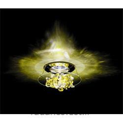 کریستال هالوژنی آیس یاقوت زرد سواروفسکی SWAROVSKI ICE SUNSET CRYSTAL/LIGHT TOPAZ